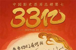 《哪吒之魔童降世》突破33亿!有望冲进中国票房前5