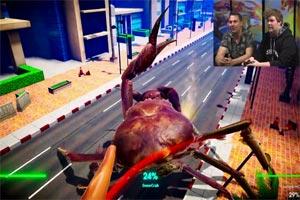 魔性格斗游戏《螃蟹大战》官方展示15分钟实机演示