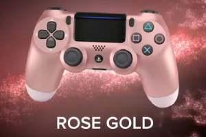 索尼公布四款PS4新手柄  玫瑰金色系还有配套耳机!