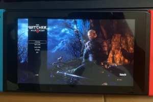 《巫师3:狂猎》NS版实机照片曝光 科隆或有新消息!