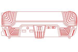 索尼PS5原型机图片疑似曝光!深V凹槽造型很奇特!