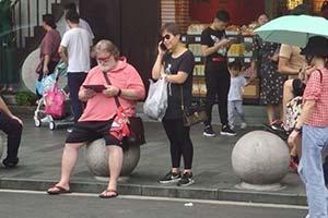 上海街頭偶遇G胖:網友惡搞之傳說中的煉金術師!