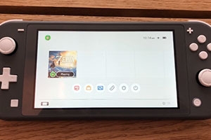Switch Lite实机上手试玩视频 任天堂谈手柄漂移问题
