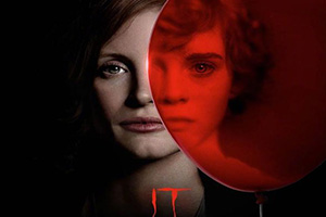 黑红色调 !《小丑回魂2》发布两代演员同框角色海报