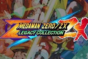 《洛克人Zero/ZX遗产合集》屏摄试玩 NS版尚存瑕疵