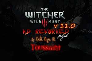 《巫师3》HD高清重制计划11.0版 画面对比视频公布!