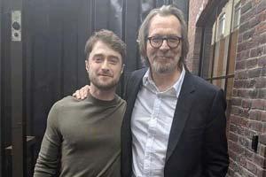 哈利波特小天狼星重逢《娱乐周刊》多伦多电影节写真