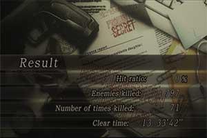玩家《生化?;?》0%命中通关 小刀炸B不计准确率
