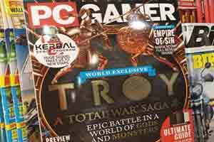 杂志封面现《全面战争传奇:特洛伊》 游戏即将公布
