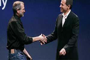 迪士尼CEO:乔布斯若健在或与苹果合并 愿他见证