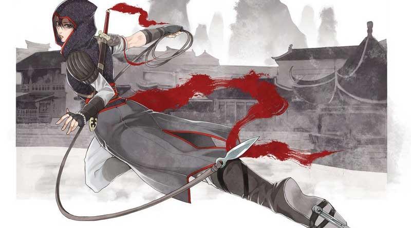 育碧《刺客信条编年史:中国》同名漫画宣传图公布