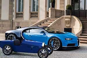 23.5万元的儿童玩具!布加迪推出Type35 BabyII 童车