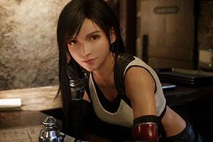 蒂法女神倾城一笑! 《最终幻想7》公布大量新截图!
