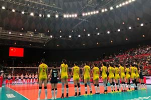 冠军!2019女排世界杯中国女排霸气十连胜卫冕成功!