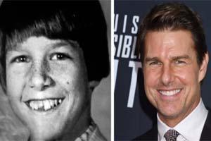 小时候和长大后的差别有多大?20位好莱坞明星童年照