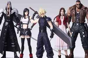 《最終幻想7重制版》盒玩手辦賞!五名角色一齊帶回家