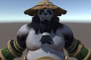 《魔兽争霸3:重制版》熊猫酒仙 兽族 人族模型曝光