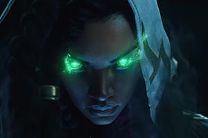 《英雄联盟》新英雄赛娜公开 卢锡安亡妻地狱归来!