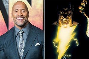 巨石强森自曝DC《黑亚当》明年7月开拍!十年的等待
