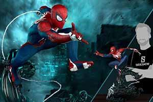 《漫威蜘蛛侠》推出1:3收藏雕像 线条优美细节丰富!