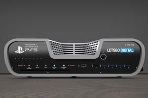 PS5主机最新渲染图!基础之上再爆专利图未有之细节