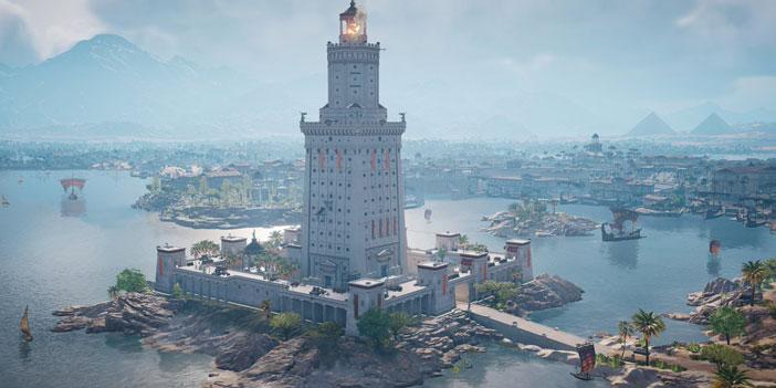 带着游戏去旅行第三期:亚历山大灯塔的别样魅力