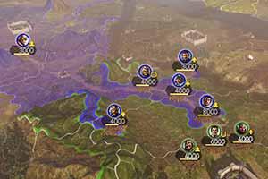 《三国志14》 地图