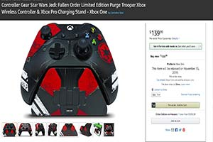 """《星战 陨落》Xbox限定""""肃清兵""""手柄: 配件超豪华"""