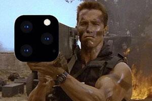 用我自己!施瓦辛格iPhone 11專屬火箭筒手機殼!