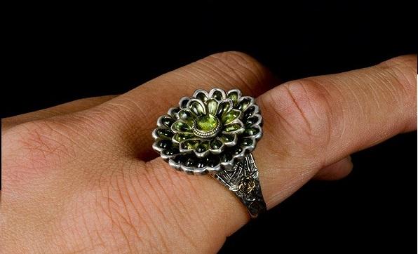"""著名求死游戲《黑暗之魂》""""綠花指輪""""戒指完美還原"""