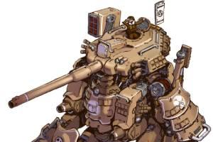 机甲是男人的最终幻想!游戏原画师霸气艺术图集赏!