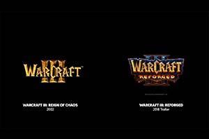 《魔兽争霸3:重制版》 过场CG对比 全方面的革新!