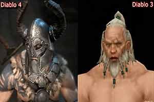 暴雪嘉年华:《暗黑4》与《暗黑3》画面对比视频