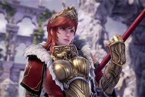 重装女战士希尔德《灵魂能力6》新DLC角色全新截图