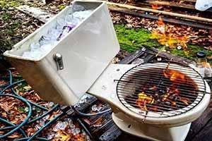 抽水马桶改成烤肉架?12个让人惊呆的爆笑创意改造!