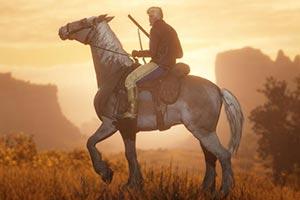 《大镖客2》pc版照相模式令人惊艳 玩家秒变带摄影师