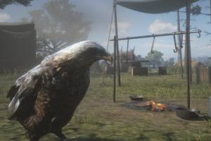 PC就是好!《荒野大镖客2》mod将亚瑟换成会飞的鸟