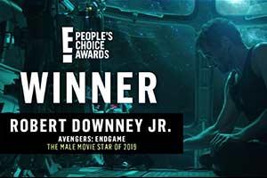 人民選擇獎頒發 《復仇者聯盟4》、唐尼成最大贏家!