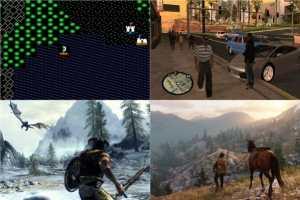 從浩瀚宇宙到狂野西部 開放世界游戲40年進化史一覽!