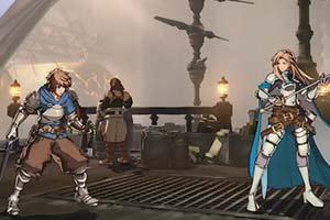《碧蓝幻想Versus》新场景演示 激战格兰赛法甲板