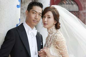 志玲姐姐感动落泪!林志玲与Akira今天举行婚礼