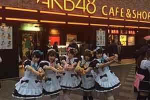 朝圣要趁早 秋叶原AKB48主题咖啡店即将停止营业