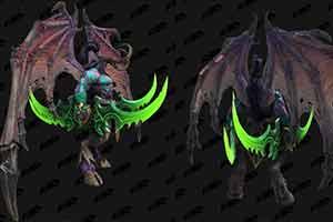 伊利丹帅炸 《魔兽3:重制版》暗夜精灵单位模型曝光