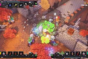 《我的世界:地下城》X019大会加长剪辑版实机演示!