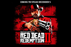 R星官宣《荒野大镖客2》 将于12月登陆Steam平台!