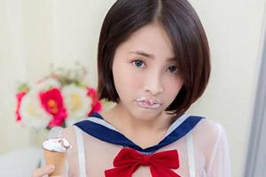 软Q大欧派难以遮掩!性感热辣的泰国短发学妹Milkoo