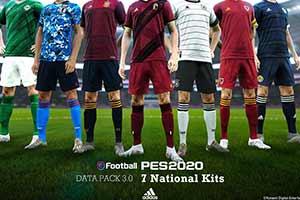 《实况足球2020》3.0更新包: 展现新球员/优质球场