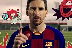 《实况足球2020 Lite》今日推出 梅西真人出镜宣传片