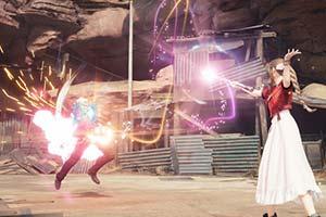 《最終幻想7:重制版》新截圖 艾莉絲施放技能美如畫