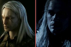 《巫师》网飞剧版&游戏画面对比 演员范正场景还原!